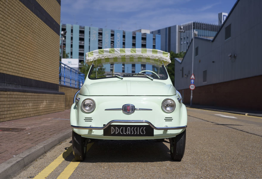 1963 Fiat 500 Jolly For Sale In London (LHD) For Sale (picture 6 of 24)
