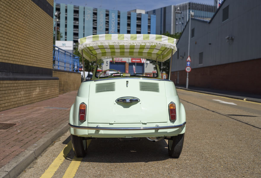 1963 Fiat 500 Jolly For Sale In London (LHD) For Sale (picture 7 of 24)