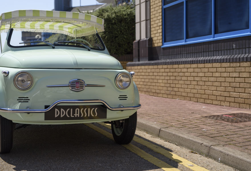 1963 Fiat 500 Jolly For Sale In London (LHD) For Sale (picture 8 of 24)
