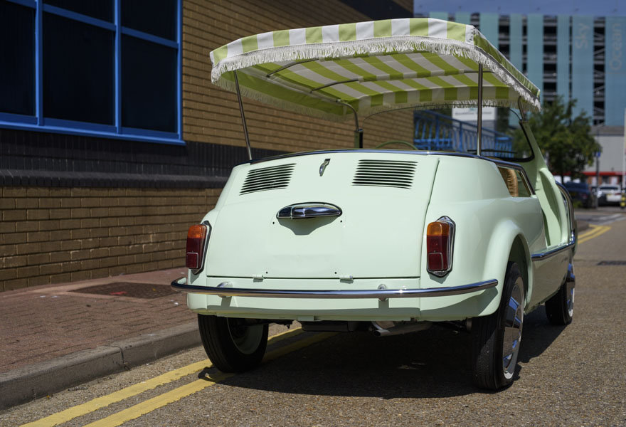 1963 Fiat 500 Jolly For Sale In London (LHD) For Sale (picture 9 of 24)