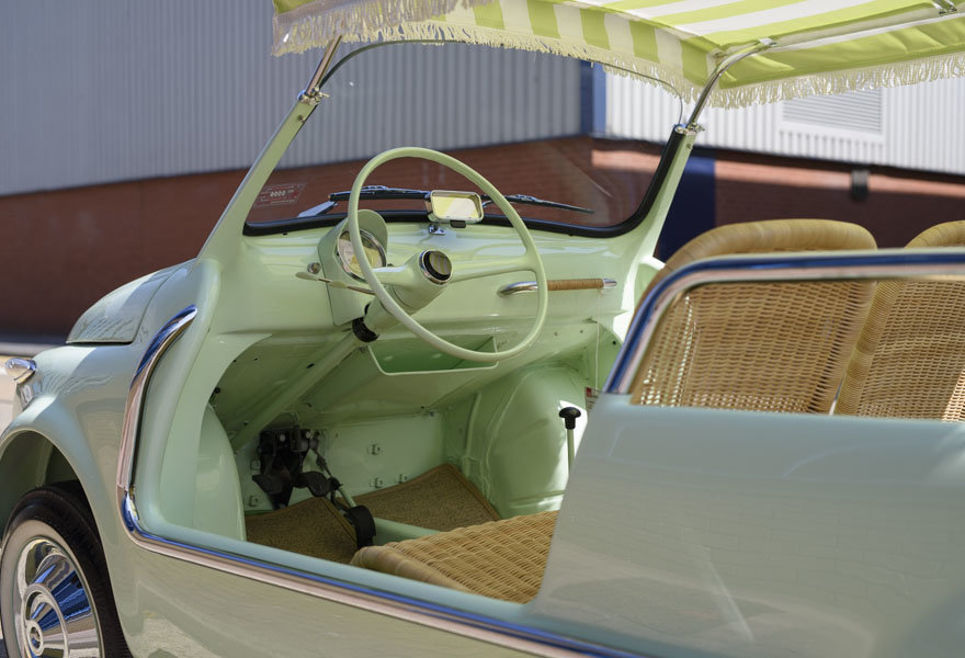 1963 Fiat 500 Jolly For Sale In London (LHD) For Sale (picture 11 of 24)