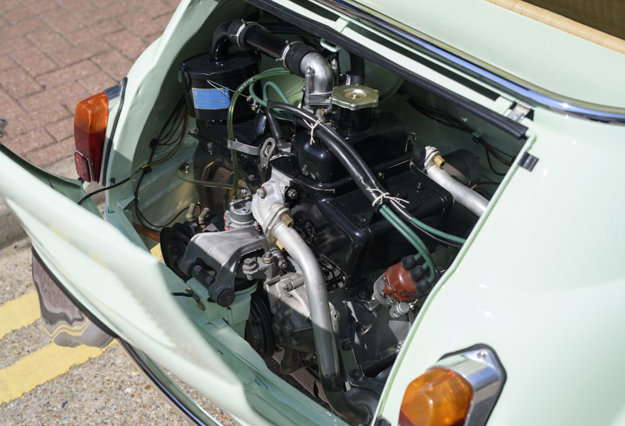 1963 Fiat 500 Jolly For Sale In London (LHD) For Sale (picture 24 of 24)