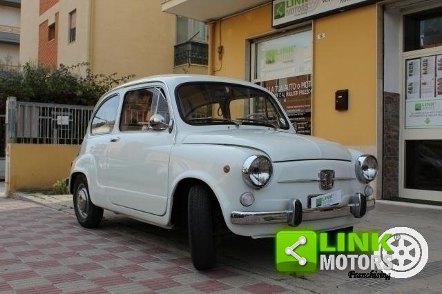 1966 Fiat 600 Tipo 100 D FANALONA For Sale (picture 1 of 6)