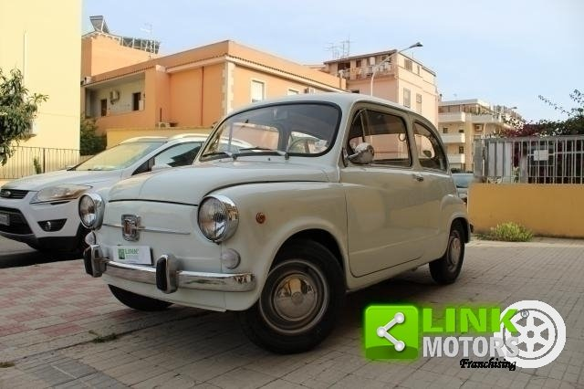 1966 Fiat 600 Tipo 100 D FANALONA For Sale (picture 2 of 6)