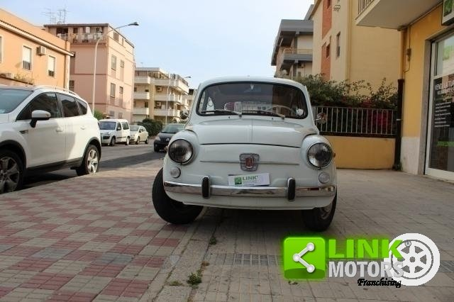 1966 Fiat 600 Tipo 100 D FANALONA For Sale (picture 3 of 6)