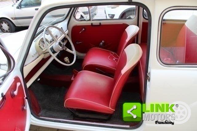 1966 Fiat 600 Tipo 100 D FANALONA For Sale (picture 4 of 6)