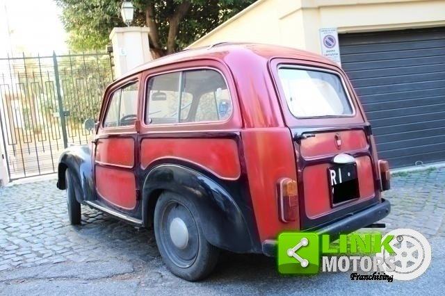 1963 Fiat Topolino C Belvedere For Sale (picture 2 of 6)
