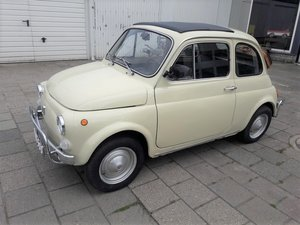 Fiat 500 Luxury beige 1972     6250 EURO For Sale