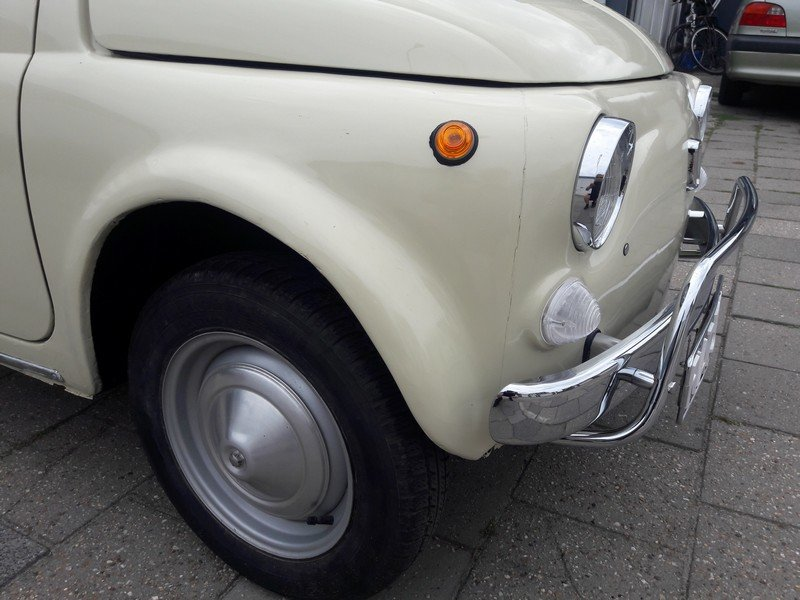 Fiat 500 Luxury beige 1972     6250 EURO SOLD (picture 3 of 6)