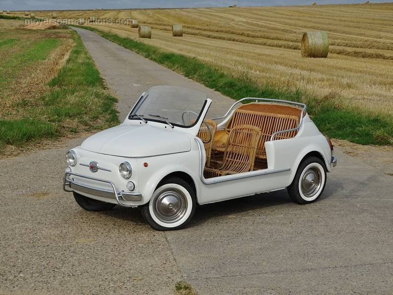 1978 FIAT 500 110F JOLLY For Sale by Auction (picture 1 of 6)