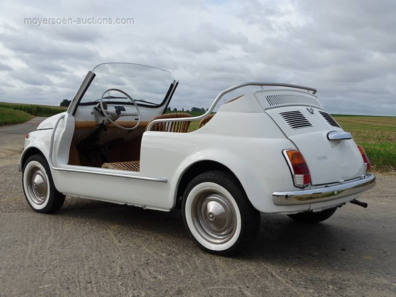 1978 FIAT 500 110F JOLLY For Sale by Auction (picture 3 of 6)