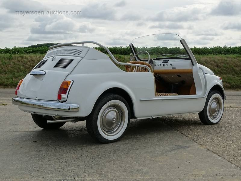 1978 FIAT 500 110F JOLLY For Sale by Auction (picture 4 of 6)