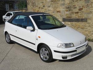 1997 Rare Fiat Punto 1.2 ELX 16v Bertone Cabriolet - 44K- Superb For Sale