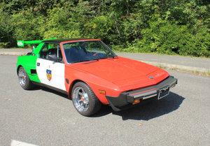 1984  Fiat X1/9 - Lot 676