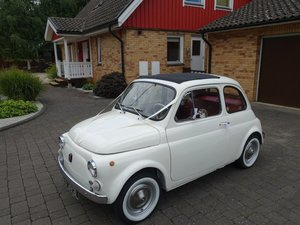 1973 Fiat 500R 'Round Speedo' Model For Sale