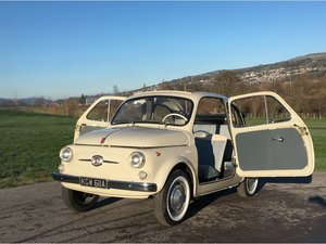 1963 Fiat 500D transformabile suicide doors For Sale