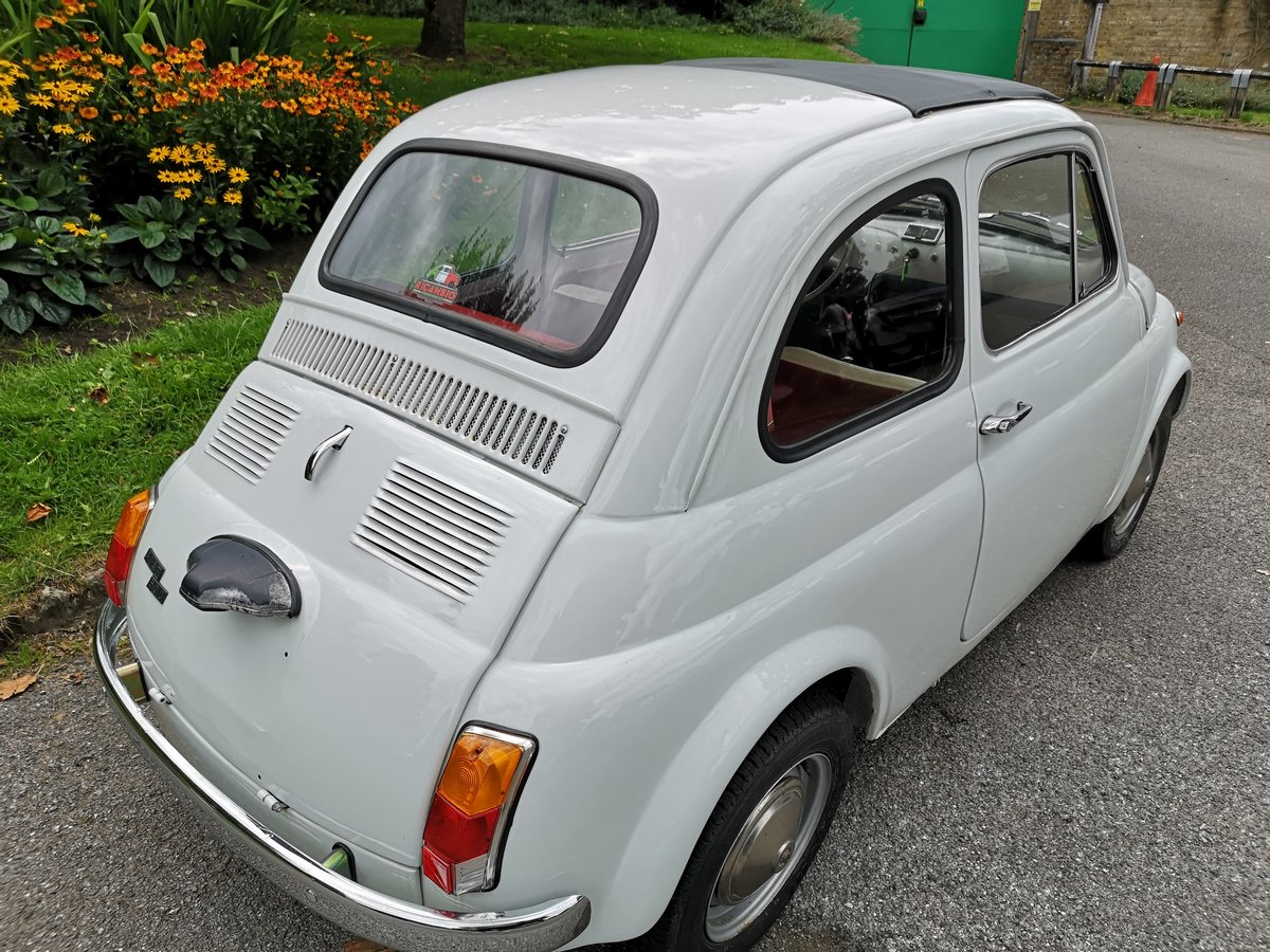 1966 Fiat 500  in super restored condition UK REGISTERTED For Sale (picture 2 of 6)