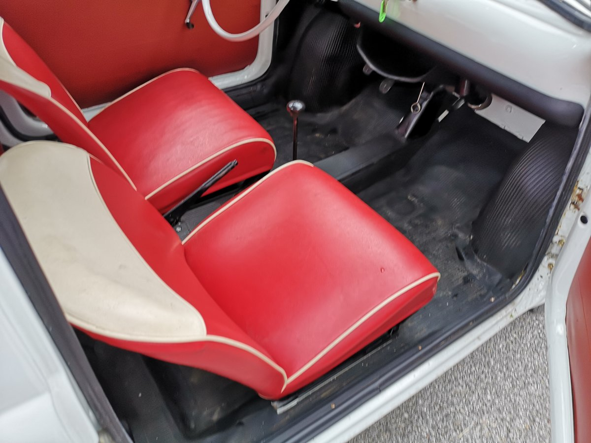 1966 Fiat 500  in super restored condition UK REGISTERTED For Sale (picture 5 of 6)