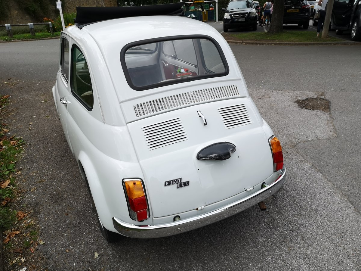 1966 Fiat 500  in super restored condition UK REGISTERTED For Sale (picture 6 of 6)
