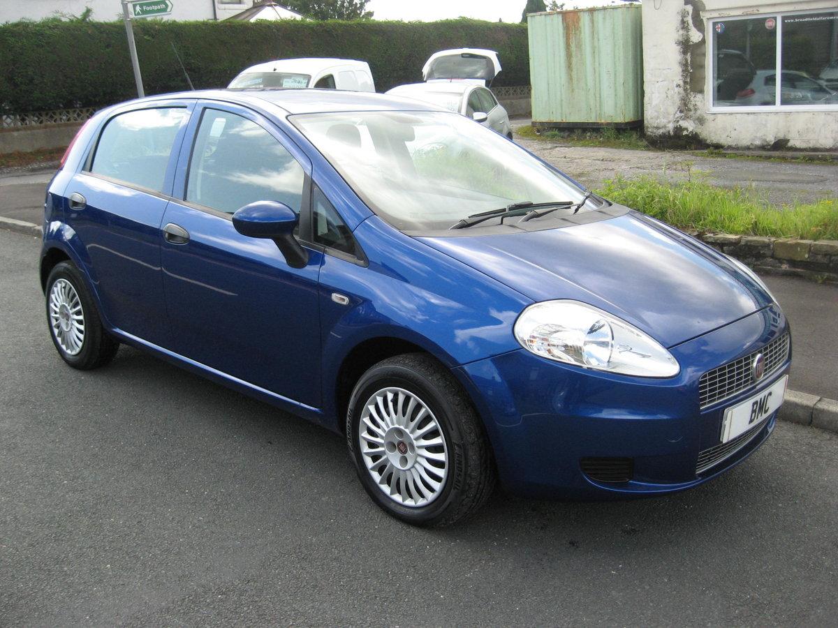 2009 59-reg Fiat Grande Punto 1.4 8v Active 5Dr manual in bl For Sale (picture 1 of 6)