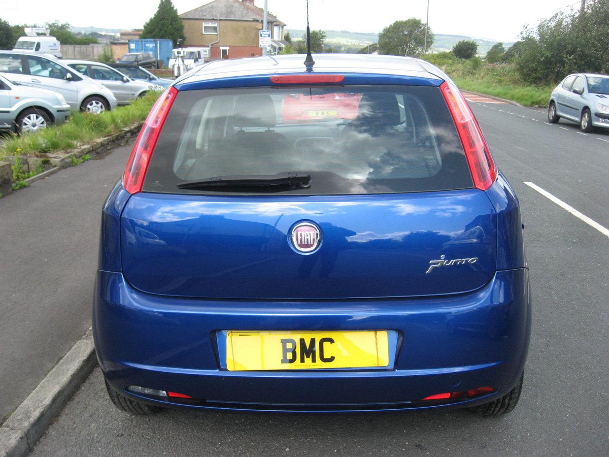 2009 59-reg Fiat Grande Punto 1.4 8v Active 5Dr manual in bl For Sale (picture 4 of 6)