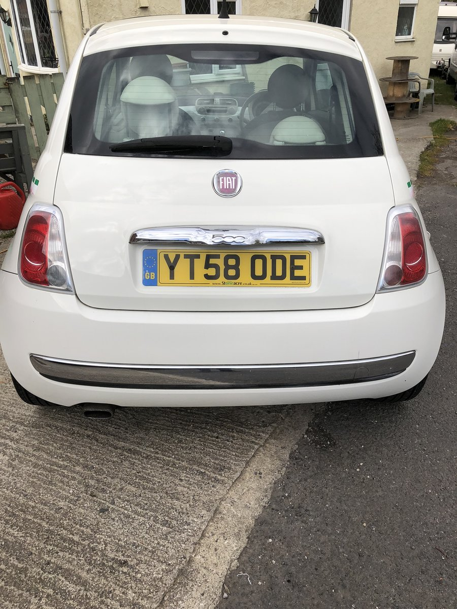 2008 Fiat 500 Spares or Repair For Sale   Car And Classic