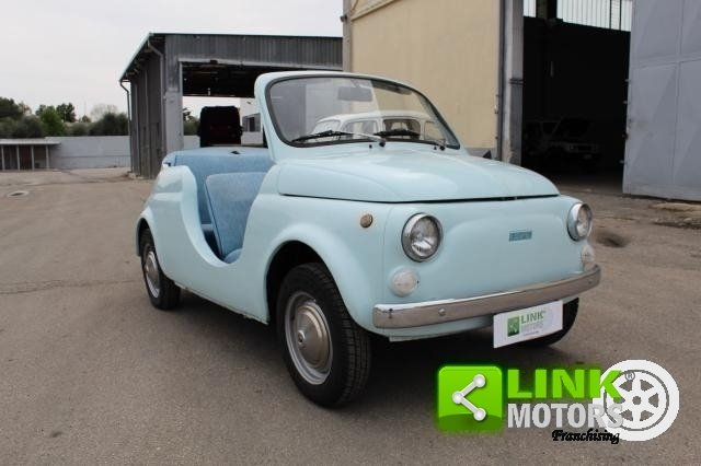 FIAT 500R REPLICA JOLLY SUMMER 1971 - OMOLOGATA For Sale (picture 1 of 6)
