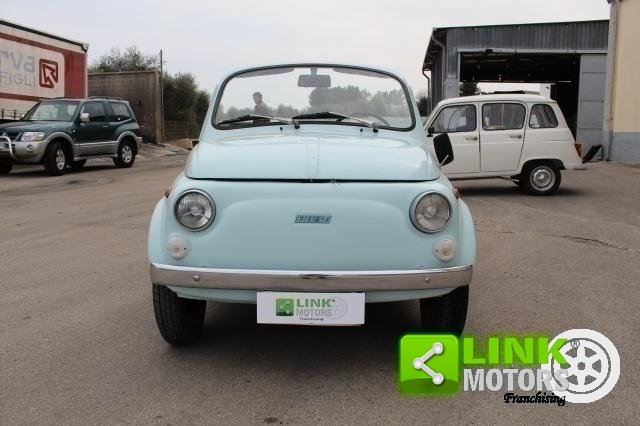 FIAT 500R REPLICA JOLLY SUMMER 1971 - OMOLOGATA For Sale (picture 3 of 6)