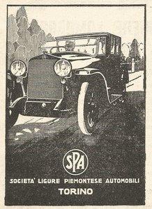 1921 SPA Tipo 23-20 HP