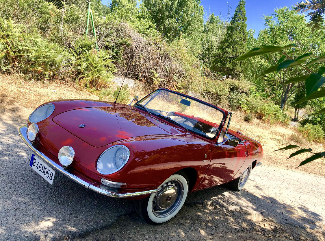 1966 Fiat 850 Spider Bertone 1ª Serie by Guijaro For Sale (picture 1 of 6)