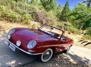 1966 Fiat 850 Spider Bertone 1ª Serie by Guijaro For Sale