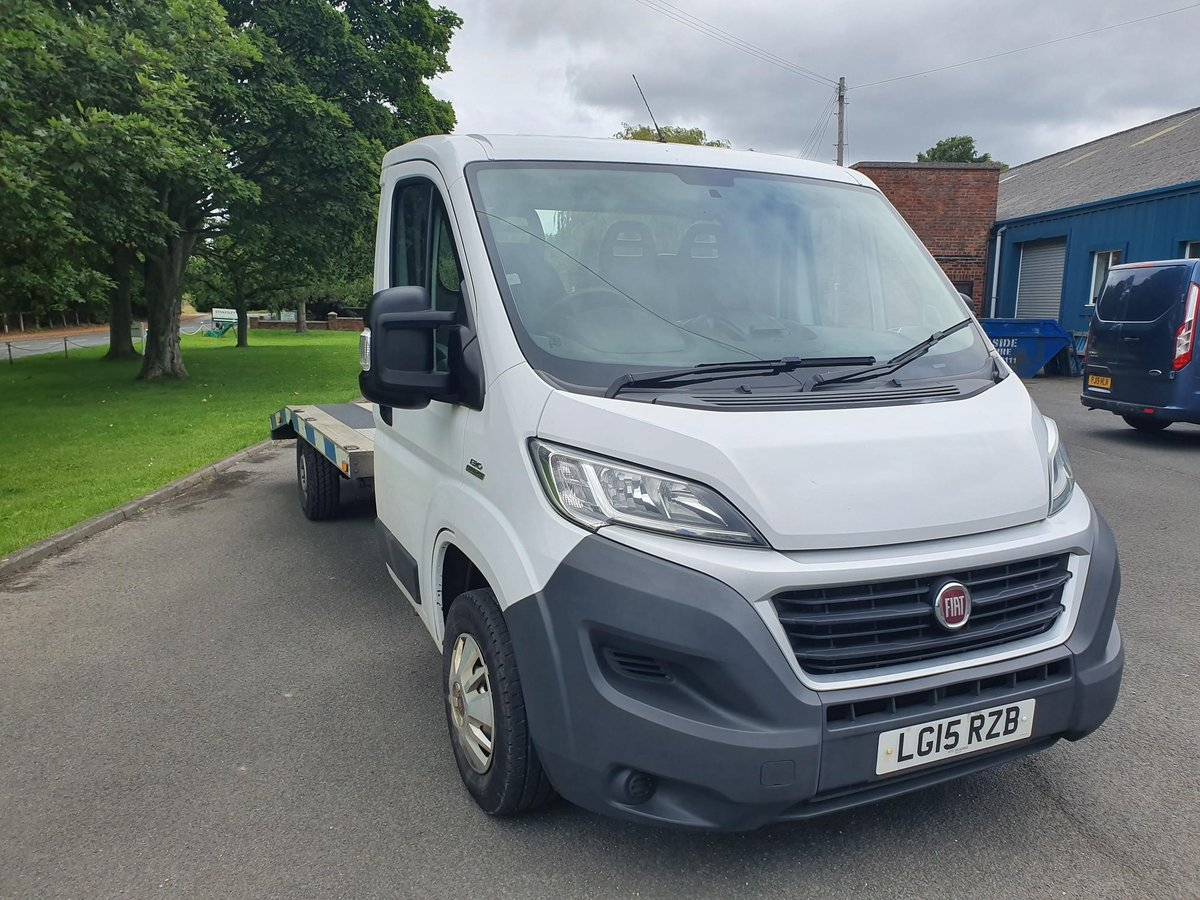 2015 Fiat Ducato Transporter KFS Lightweight ALU Model For Sale (picture 1 of 5)