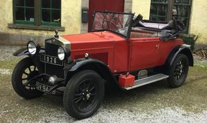 1926 FIAT 509 ROADSTER WITH DICKEY For Sale by Auction