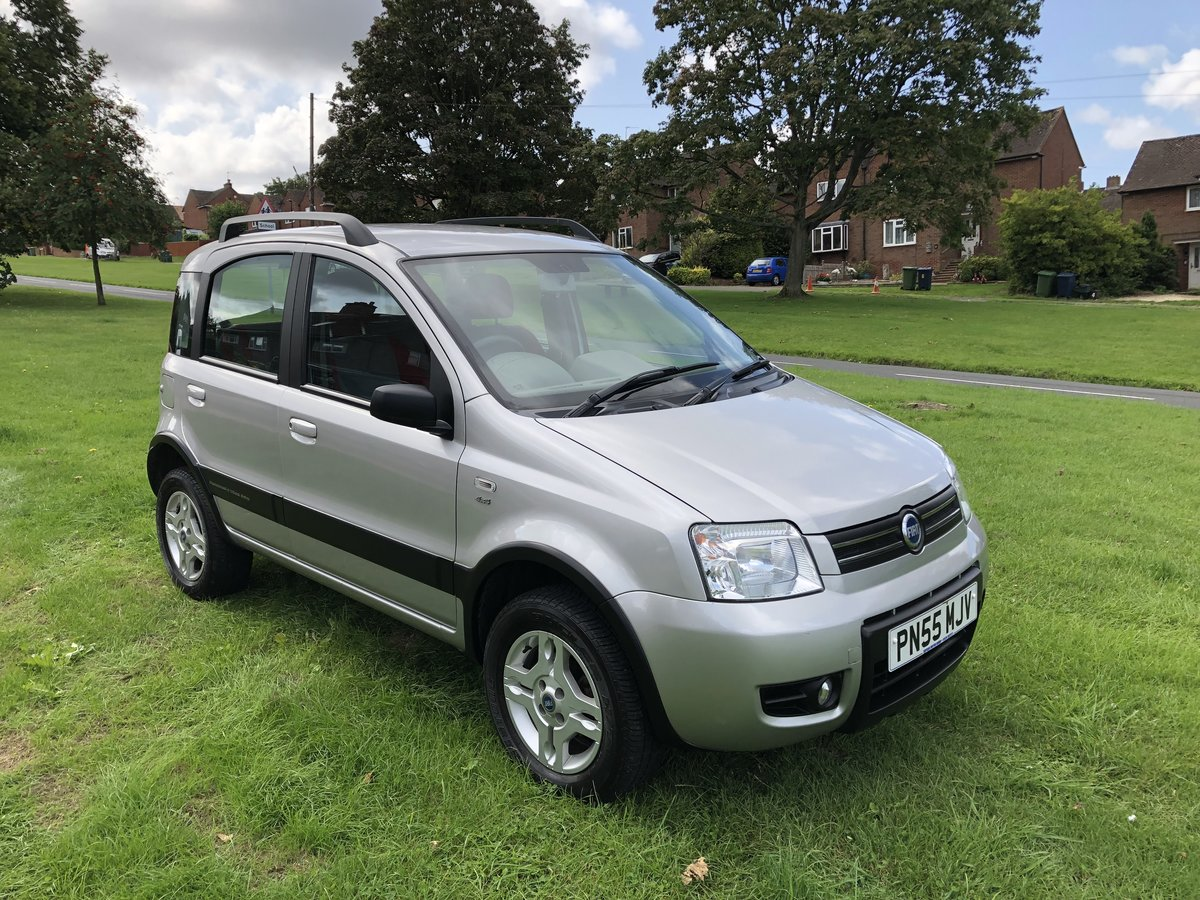 2005 Fiat Panda 4x4  SOLD (picture 1 of 6)