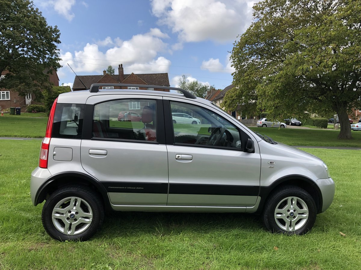 2005 Fiat Panda 4x4  SOLD (picture 3 of 6)