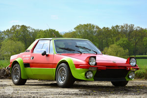 1974 Fiat X1/9 Group 4 Coupe - UK registered