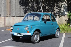 Fiat 500 1970 - To be auctioned 25-10-19 For Sale by Auction