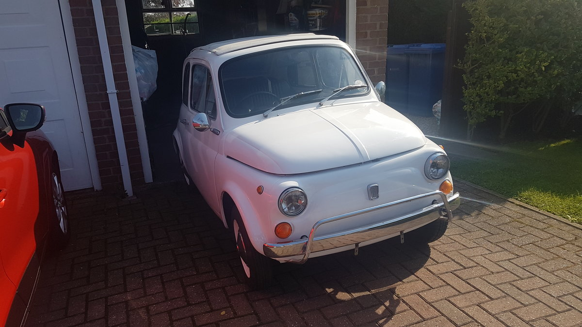 1971 Fiat 500L Lusso UK Original RHD Right hand drive For Sale (picture 1 of 6)