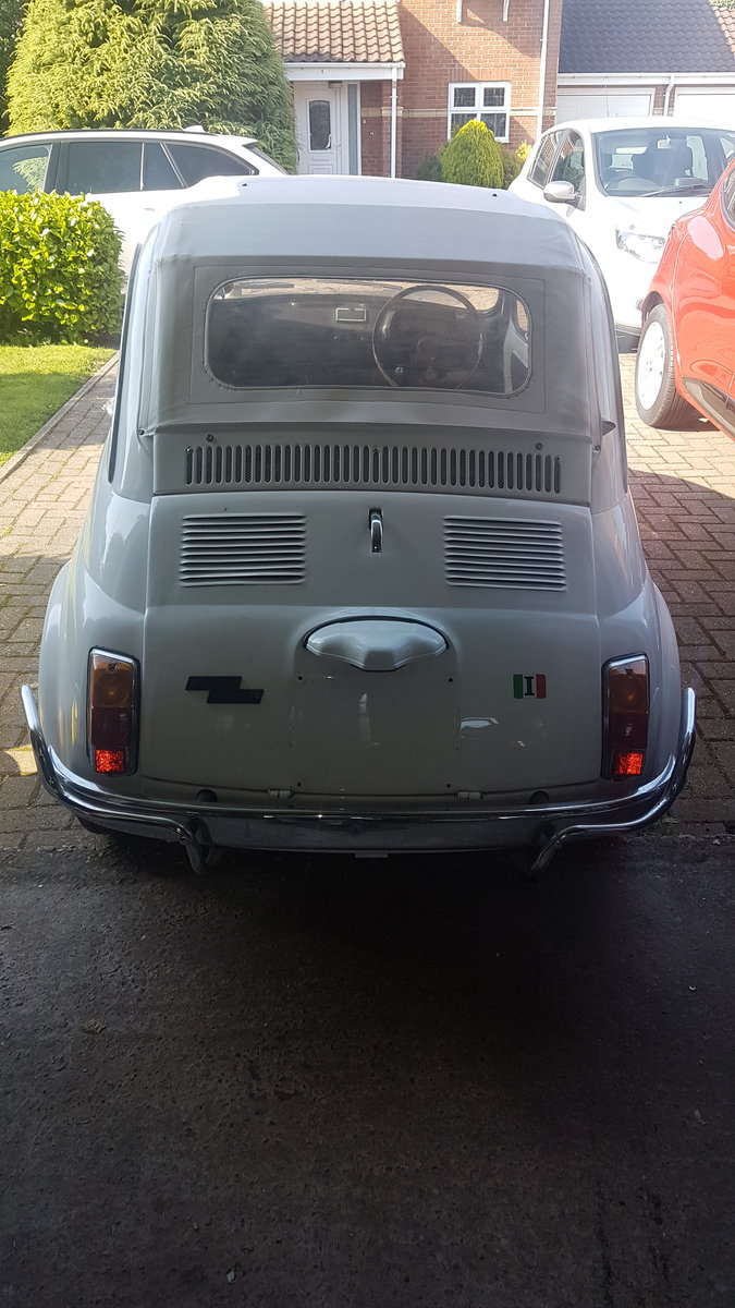 1971 Fiat 500L Lusso UK Original RHD Right hand drive For Sale (picture 2 of 6)