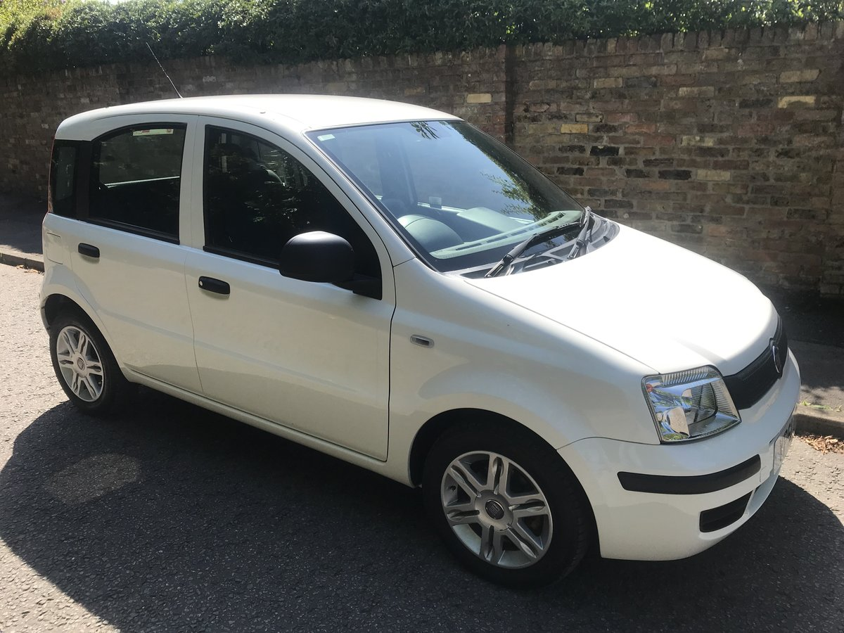 2012 FIAT PANDA 1.2 MYLIFE WITH AIR CON ONLY 16000 MILES FROM NEW For Sale (picture 1 of 6)