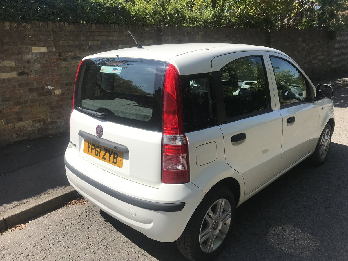 2012 FIAT PANDA 1.2 MYLIFE WITH AIR CON ONLY 16000 MILES FROM NEW For Sale (picture 2 of 6)