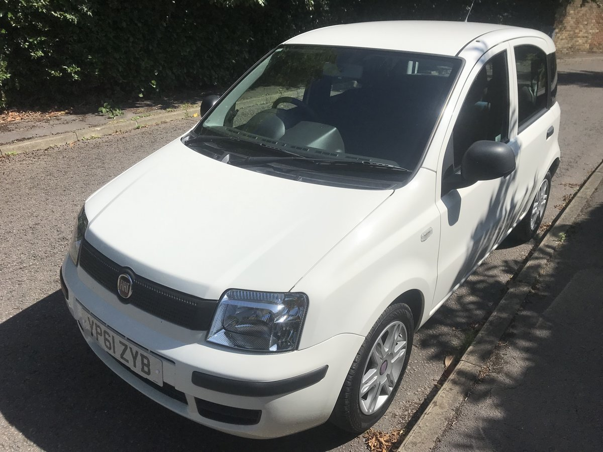 2012 FIAT PANDA 1.2 MYLIFE WITH AIR CON ONLY 16000 MILES FROM NEW For Sale (picture 3 of 6)