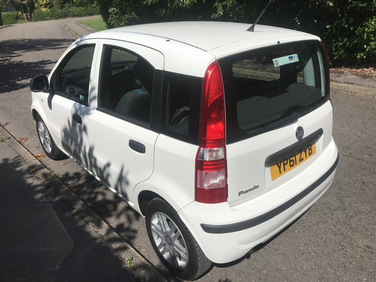 2012 FIAT PANDA 1.2 MYLIFE WITH AIR CON ONLY 16000 MILES FROM NEW For Sale (picture 4 of 6)