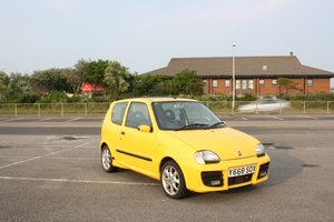 2001 Fiat Seicento Schumacher Unmolested For Sale