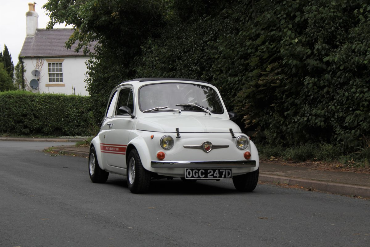 1966 Genuine Fiat Abarth 595  SOLD (picture 1 of 19)