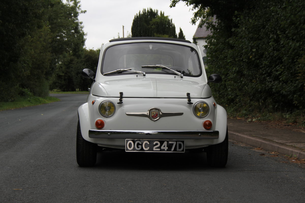 1966 Genuine Fiat Abarth 595  SOLD (picture 2 of 19)