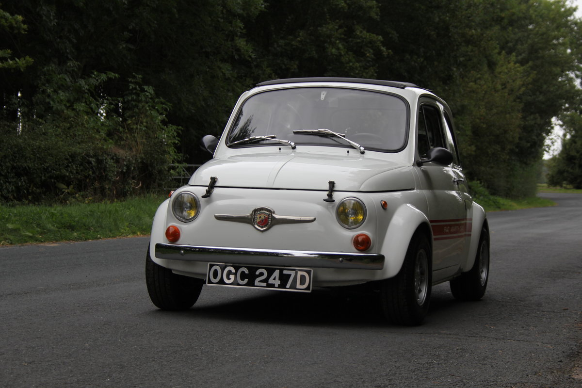 1966 Genuine Fiat Abarth 595  SOLD (picture 3 of 19)