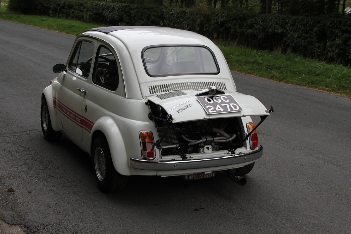 1966 Genuine Fiat Abarth 595  SOLD (picture 4 of 19)