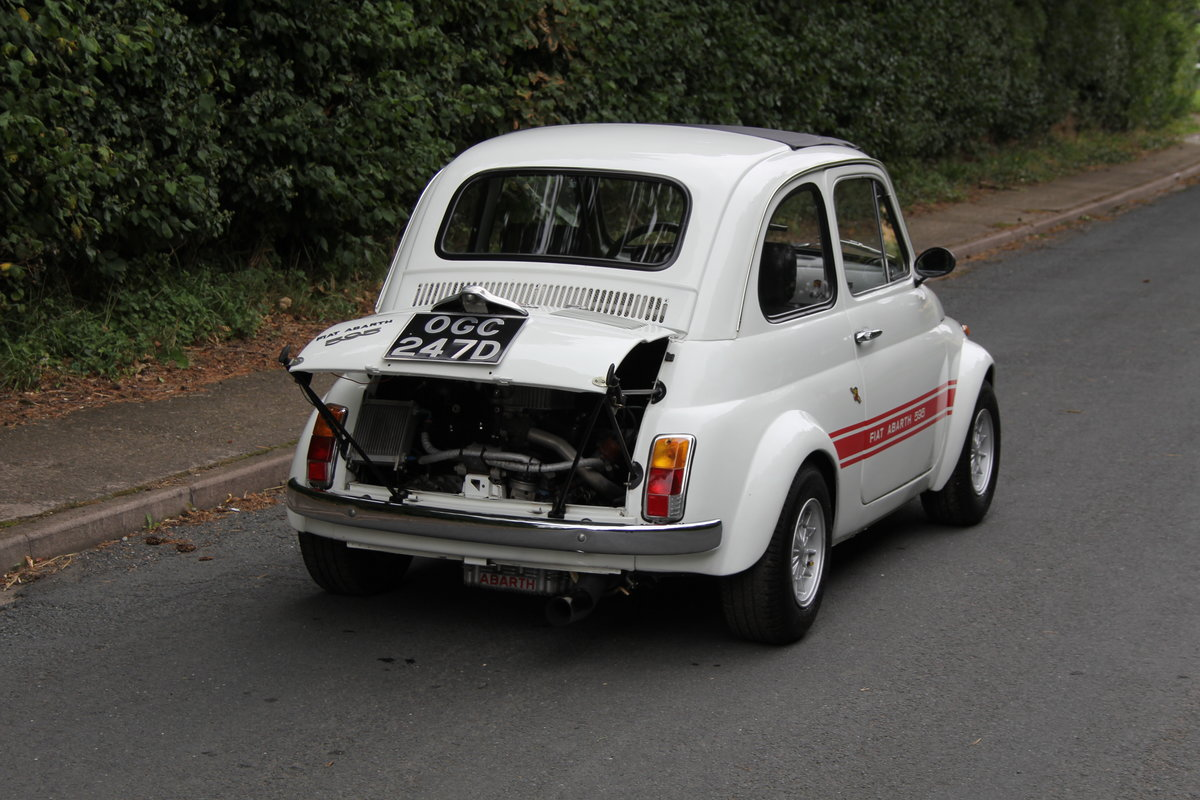 1966 Genuine Fiat Abarth 595  SOLD (picture 6 of 19)