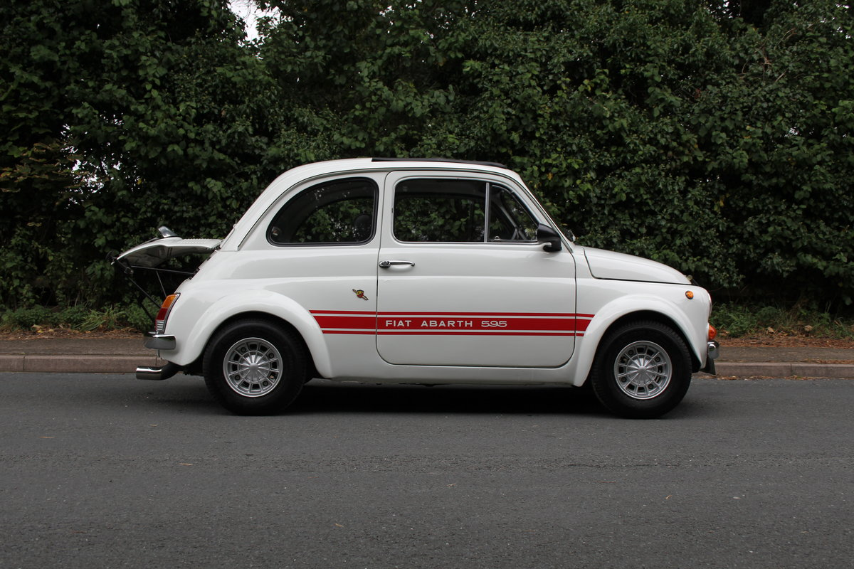 1966 Genuine Fiat Abarth 595  SOLD (picture 7 of 19)